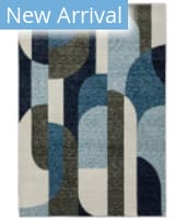 Oriental Weavers Strada STR03 Blue - Grey Area Rug