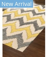 Rugstudio Abbott Abbott 12 Gray - Yellow Area Rug