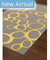 Rugstudio Abbott Abbott 16 Gray - Yellow Area Rug