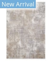 Solo Rugs Modern S7008-BEIG  Area Rug