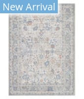 Solo Rugs Transitional S7021-GRAY  Area Rug