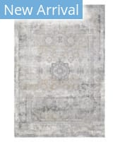 Solo Rugs Transitional S7032-GRAY  Area Rug