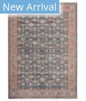Solo Rugs Transitional S7508 Blue Area Rug