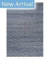 Stark Studio Rugs Essentials: Diamonds Blue - White
