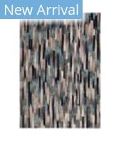 Trans-Ocean Fresco Broken Stripe 6127/03 Blue Area Rug