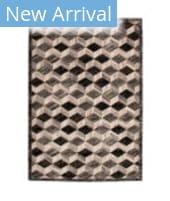 Trans-Ocean Fresco Cubes 6130/38 Silver Area Rug