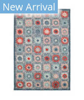 Trans-Ocean Portofino Boho Tiles 7061/43 Nautical Area Rug