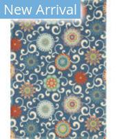 Waverly Sun N' Shade SND84 Blue - Multicolor Area Rug