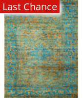 Amer Silkshine Sf-19 Gold-Blue Area Rug