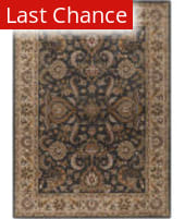 Rugstudio Sample Sale 125913R Charcoal - Ivory Area Rug