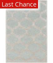 Rugstudio Sample Sale 137517R Light Blue - Gray Area Rug