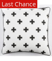 Surya Inga Pillow Cross