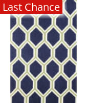 Rugstudio Sample Sale 127748R Navy Area Rug