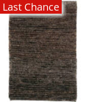 Classic Home Hand-Knotted Hemp 50462 Dark Chocolate Silky Loop 300-7205 Area Rug