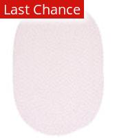 Rugstudio Sample Sale 160392R Blush Pink Area Rug