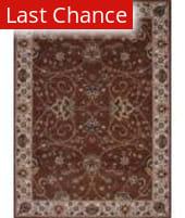 Rugstudio Famous Maker 39142 Chocolate Area Rug