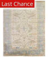 Rugstudio Sample Sale 190924R Ivory - Blue Area Rug