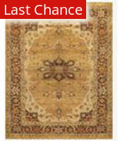 Famous Maker Juliet 44741 Gold-Brown Area Rug