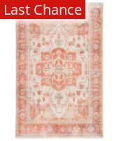 Rugstudio Sample Sale 216931R Orange - Ivory Area Rug