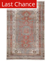 Rugstudio Sample Sale 217660R Gray - Orange Area Rug