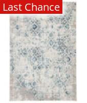 Rugstudio Sample Sale 202906R Blue - Ivory Area Rug