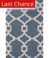 Rugstudio Sample Sale 109690R Aegean Blue/Antique White Area Rug