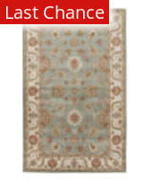 Rugstudio Sample Sale 109883RR Silver Sea Moss/Antique White Outlet Area Rug