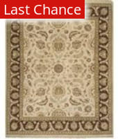 Rugstudio Famous Maker 39265 Dark Ivory Area Rug