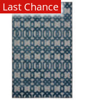 Rugstudio Sample Sale 204831R Gray - Blue Area Rug