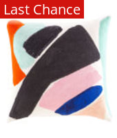Jaipur Living Yorkville By Kate Spade New York Abstract Art Pillow Ykn85 Cool Multi Area Rug