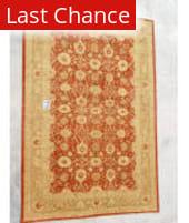 J. Aziz Peshawar Red-Gold 86969 12' 4'' x 17' 9'' Rug