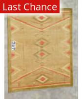 J. Aziz Peshawar Gold- 86905 8' 4'' x 9' 10'' Rug
