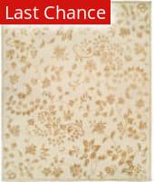 Rugstudio Sample Sale 146179R Alabaster Leaf Area Rug