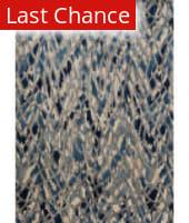 Rugstudio Sample Sale 153784R Artic Blue - Silver Area Rug
