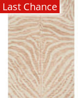 Rugstudio Sample Sale 204575R Blush - Ivory Area Rug