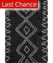Rugstudio Sample Sale 161425R Black Area Rug