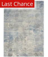 Rugstudio Sample Sale 217100R Ivory - Grey - Blue Area Rug