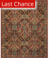 Rugstudio Sample Sale 186613R Terracotta Area Rug