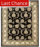 Nourison Silk Touch Sch02 Black Area Rug