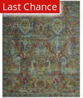 Rugstudio Sample Sale 125033R Turquoise Area Rug