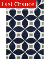 Rugstudio Sample Sale 164933R Navy Area Rug