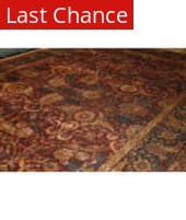 ORG Antiqued Jaipur F-6121 Red - Navy Area Rug