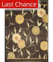 ORG Premium Tibetan Poppy Brown Area Rug