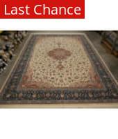ORG 16/18 Shah Abbas 2738 White Area Rug