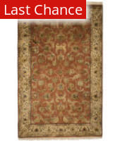 ORG Riviera Eg(s)-12 Copper - Taupe Area Rug