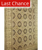 ORG Peshawar Kb-1357 Brown - Beige Area Rug
