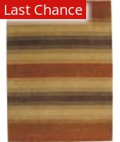 ORG Trillia Broad Stripe Spice Area Rug