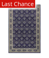 Rugstudio Sample Sale 141067R Navy Area Rug