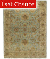 Ramerian Anthia 500-ANQ Aqua - Tan Area Rug