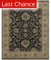 Ramerian Anthia 600-ANQ Ebony - Gold Area Rug